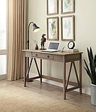 """Дизайнерский письменный стол """"Леонардо"""" из дерева, фото 2"""