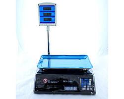 Торговые электронные весы до 50 кг MS-308 + стойка