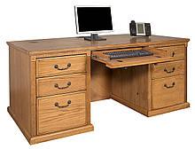 "Компьютерный стол ""Келли"" из дуба"