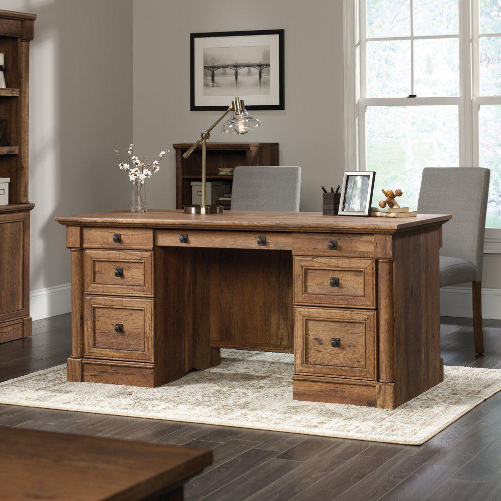 """Красивый офисный стол """"Серхио"""" из дерева"""