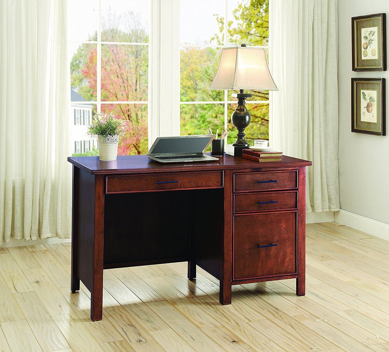 """Письменный стол """"Магнум"""" из натурального дерева"""