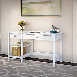 """Белый письменный стол """"Ольгерд"""" из дерева"""