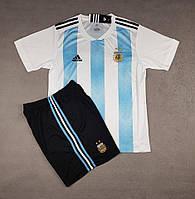 Детская футбольная форма сборной Аргентины сезон 2018 (бело-голубая) 82fa8dc2e8a