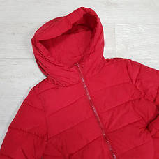 Куртка короткая красная-215-08, фото 3