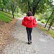 Куртка короткая красная-215-08, фото 2