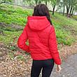 Куртка короткая красная-215-08, фото 4