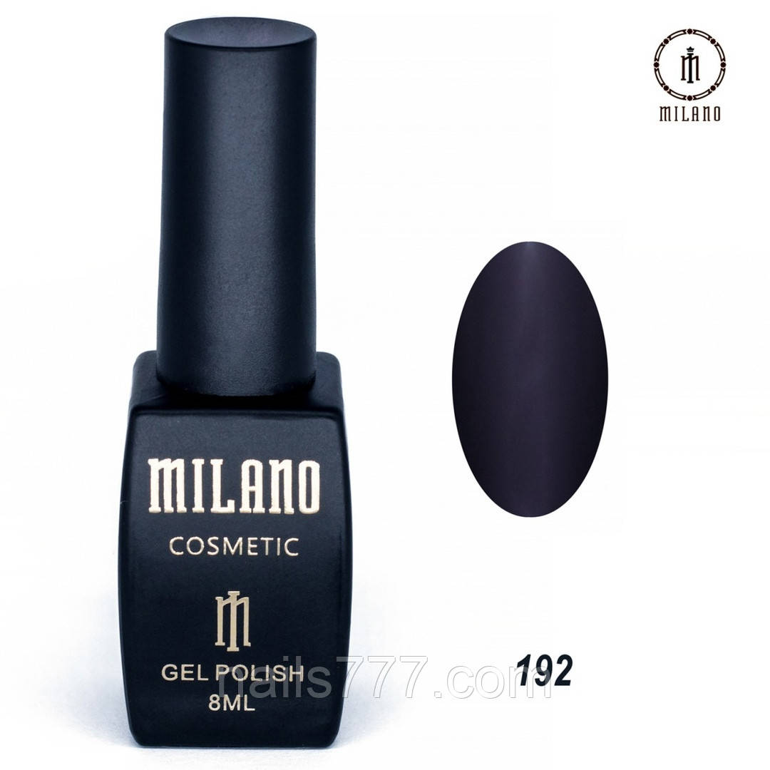 Гель-лак Milano 8 мл, № 192
