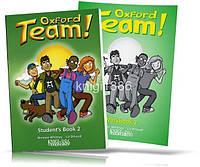 Oxford Team 2, Student's book + Workbook / Учебник+Тетрадь английского языка