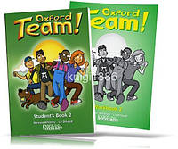 Oxford Team 2, Student's book + Workbook / Учебник + Тетрадь английского языка