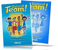Oxford Team 1, Student's book + Workbook / Учебник+Тетрадь английского языка