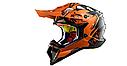 Шлем кроссовый Ls2 MX470 Subverter Emperor (Black Orange) AK2522, фото 2