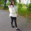 Куртка короткая белая (размер M) 215-05-2, фото 3
