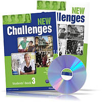 New Challenges 3, Student's book + Workbook / Учебник + Тетрадь английского языка