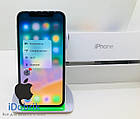 Телефон Apple iPhone X 64gb Silver  Neverlock  9/10, фото 3