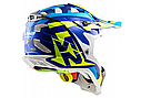 Шлем кроссовый Ls2 MX470 Subverter Nimble White (Blue Yellow), фото 2