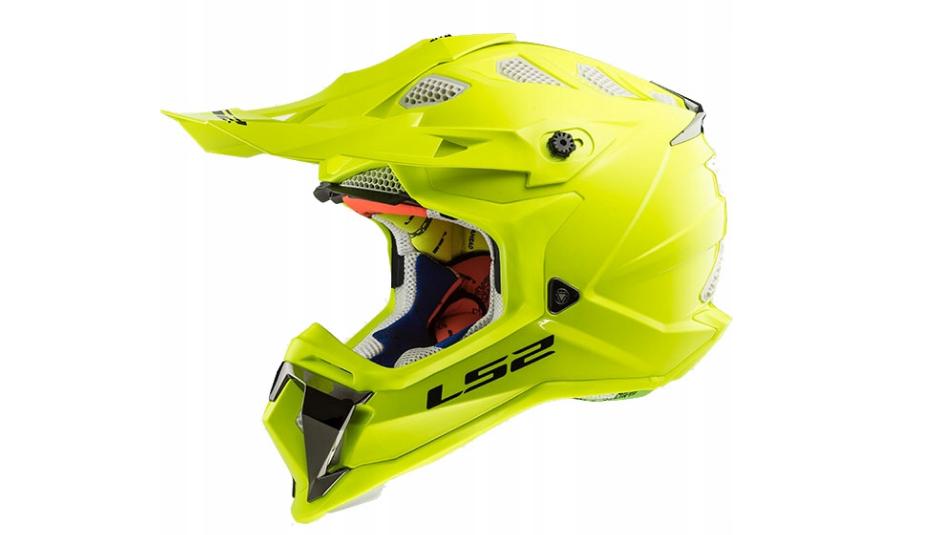 Шлем кроссовый Ls2 MX470 Subverter Solid H-V (Yellow) AK2504