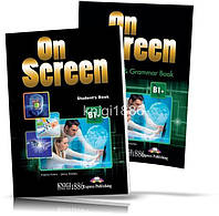 On Screen B1 + , Student's book + Workbook / Учебник + Тетрадь английского языка