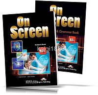 On Screen B2 + , Student's book + Workbook / Учебник + Тетрадь английского языка