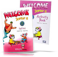 Welcome Starter А, Pupil's book + Workbook / Учебник + Тетрадь английского языка