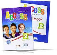 Access 2, Student's book + Workbook / Учебник + тетрадь английского языка