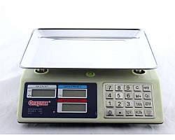 Весы ACS 50 кг 5 гр MS-982 Domotec 6V в Металлическом корпусе