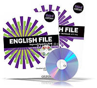 English File Beginner, Student's book + Workbook + iTutorDVD + Key / Учебник + Тетрадь английского языка