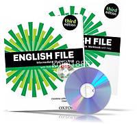 English File Intermediate, Student's book + Workbook + iTutorDVD + Key / Учебник + Тетрадь английского языка