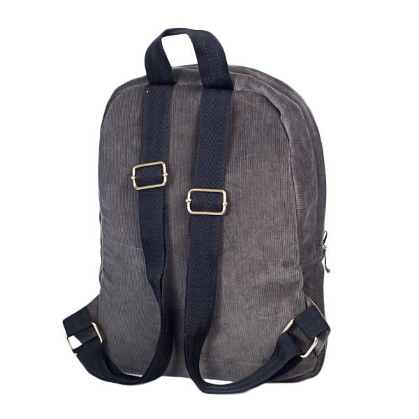 Городской женский вельветовый рюкзак Mayers, серый, фото 6