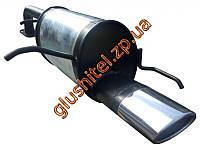 Глушитель прямоточный Шевроле Лачетти (Chevrolet Lacetti) хетчбэк 1.4-1.8 с 2003 -  Unimix