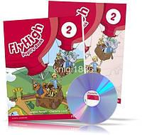 Fly High 2, Pupil's book + Activity Book + CDs / Учебник + Тетрадь английского языка