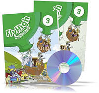 Fly High 3, Pupil's book + Activity Book + CDs / Учебник + Тетрадь английского языка