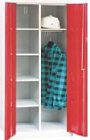 Хозяйственный шкаф металлический для инвентаря и одежды SMD 61
