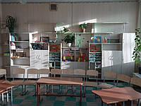 Модульна стінка для шкільних кабінетів МС-6