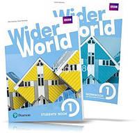 Wider World 1, Student's book + Workbook / Учебник + Тетрадь английского языка