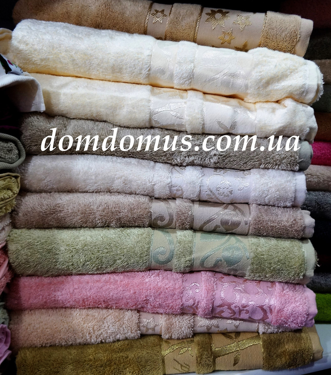 "Махровое полотенце ""Vip Bambo-Elit"" 50*90 (100% бамбук) Puppila, Турция 5032"
