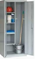 Металлический хозяйственный шкаф для щеток и ведер SMD 62