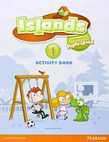 Islands 1, Activity Book+Pincode / Рабочая тетрадь английского языка