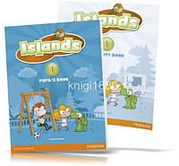 Islands 1, Pupil's book + Activity Books + Pincode / Учебник + Тетрадь английского языка