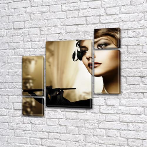 Модульные картины купить украина на Холсте, 120x130 см, (60x30-2/25х30-2/95x65)