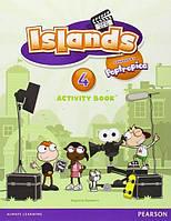 Islands 4, Activity Book+Pincode / Рабочая тетрадь английского языка