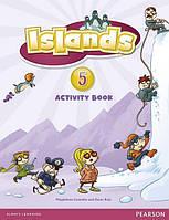 Islands 5, Activity Book+Pincode / Рабочая тетрадь английского языка