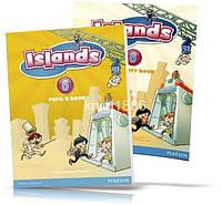 Islands 6, Pupil's book + Activity Books + Pincode / Учебник + Тетрадь английского языка