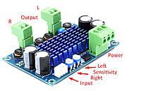 NEW! Підсилювач D клас TPA3116D2 2*120 Вт стерео модуль , фото 1