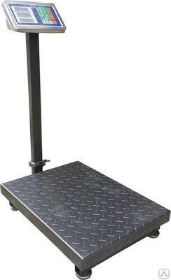 Підлогові ваги торговельні ACS 1000кг 60*80, потужні платформні ваги