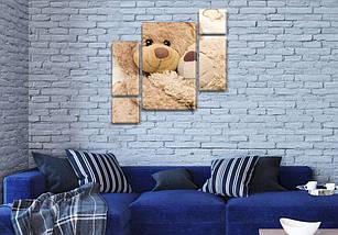 Картины модульные для детей, 120x130 см, (60x30-2/25х30-2/95x65), фото 3