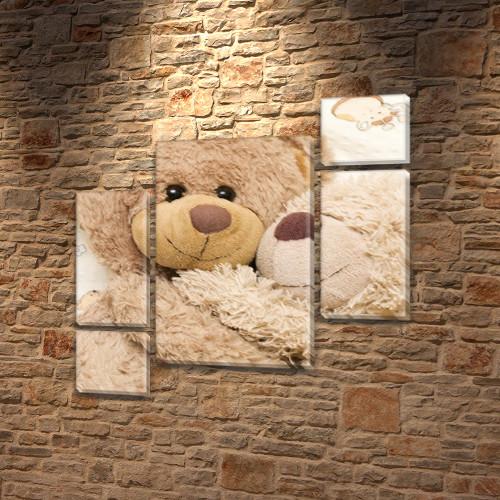 Картины модульные для детей, 120x130 см, (60x30-2/25х30-2/95x65)