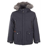 Куртка пуховая Columbia для мальчиков BARLOW PASS™ 600 TURBODOWN JACKET  черная 1680421-012 36508a21fad