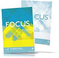 Focus 4, Student's book + Workbook / Учебник + Тетрадь английского языка