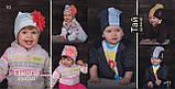 Детская шапка для девочек ПИКОЛА оптом размер 40-42-44, фото 4