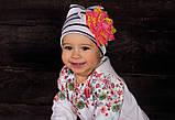 Детская шапка для девочек ПИКОЛА оптом размер 40-42-44, фото 3